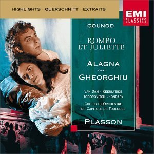 Gounod Romeo et Juliette Highlights CD