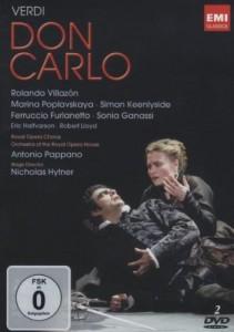 Verdi Don Carlo DVD